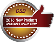 CSD 2016 New Products Consumer's Choice Award
